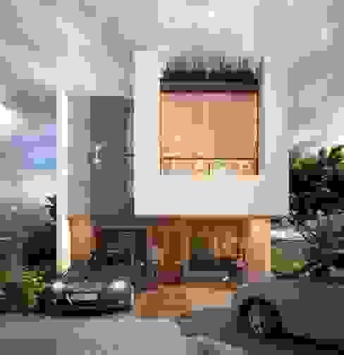Moderne Häuser von ESPACEA Modern