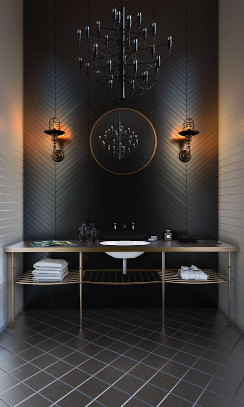 Bathroom by Ezra YAZICI,