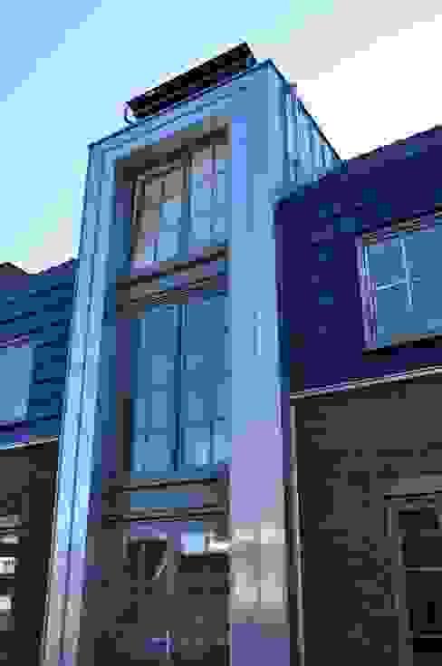 Casas de estilo industrial de Nico Dekker Ontwerp & Bouwkunde Industrial