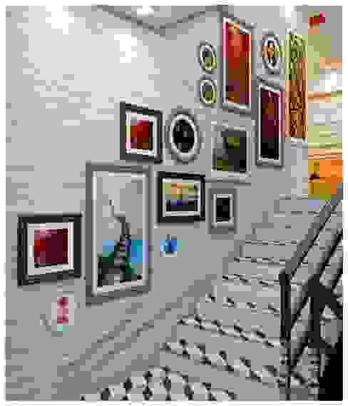 Staircase Design : modern  by Creazione Interiors,Modern