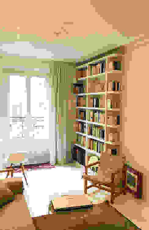 bibliotheque' Salon scandinave par Agence KP Scandinave MDF