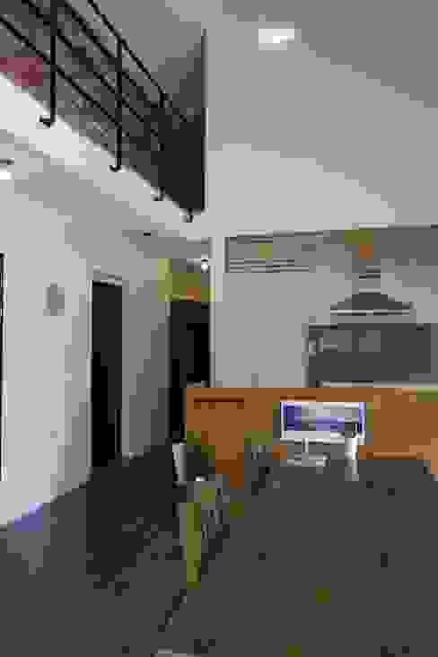 Küche von 아키제주 건축사사무소, Modern