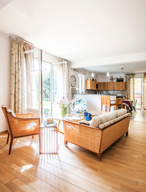 Mediterranean style living room by goodnova godiniaux Mediterranean