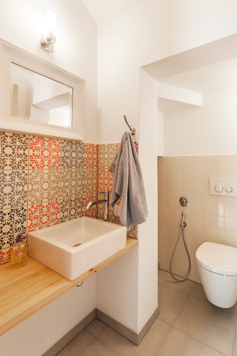 Mediterranean style bathrooms by goodnova godiniaux Mediterranean