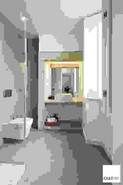 Baños de estilo moderno de Castan Moderno