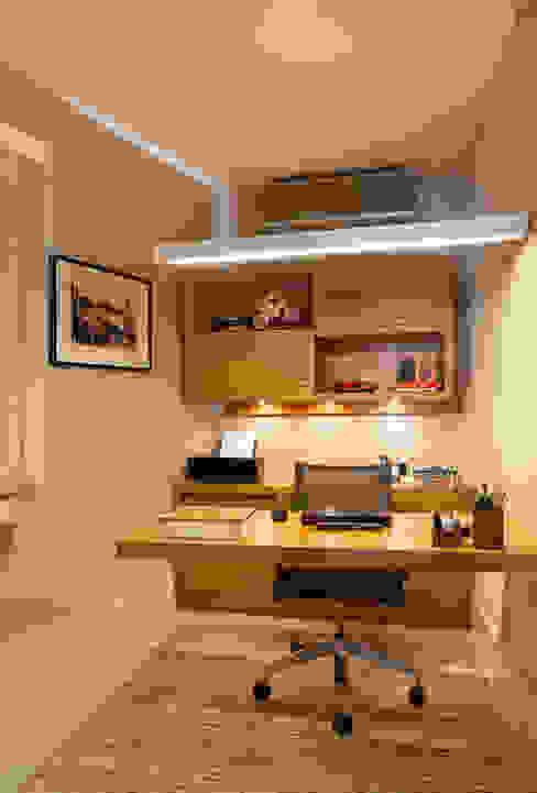 Estudios y despachos de estilo moderno de Paula Libanio Arquitetura Interiores Moderno
