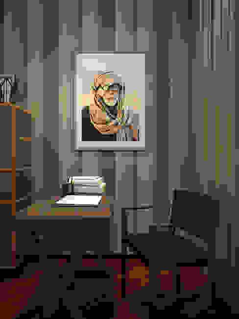 Apartment in Moscow Estudios y despachos modernos de EVGENY BELYAEV DESIGN Moderno