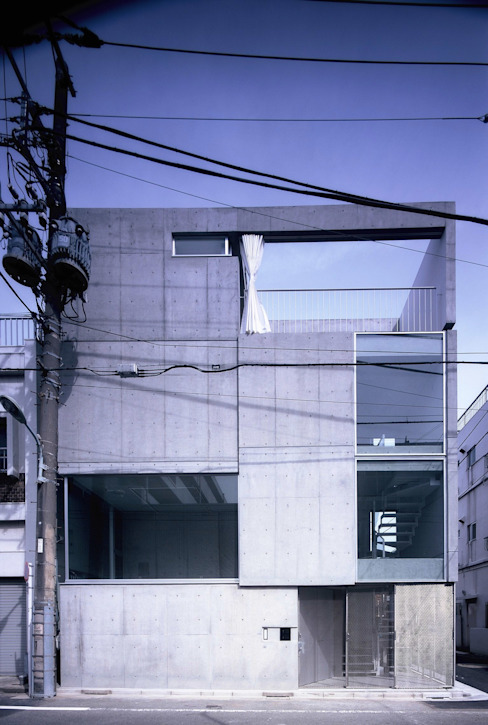 Maisons minimalistes par スズケン一級建築士事務所/Suzuken Architectural Design Office Minimaliste