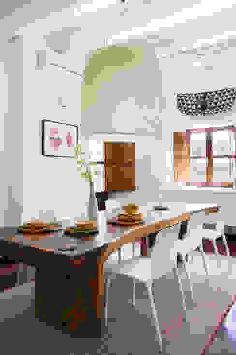 Casa en Ibiza Comedores de estilo rural de recdi8 Rural