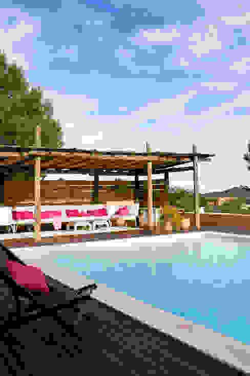 Casa en Ibiza Piscinas de estilo rural de recdi8 Rural