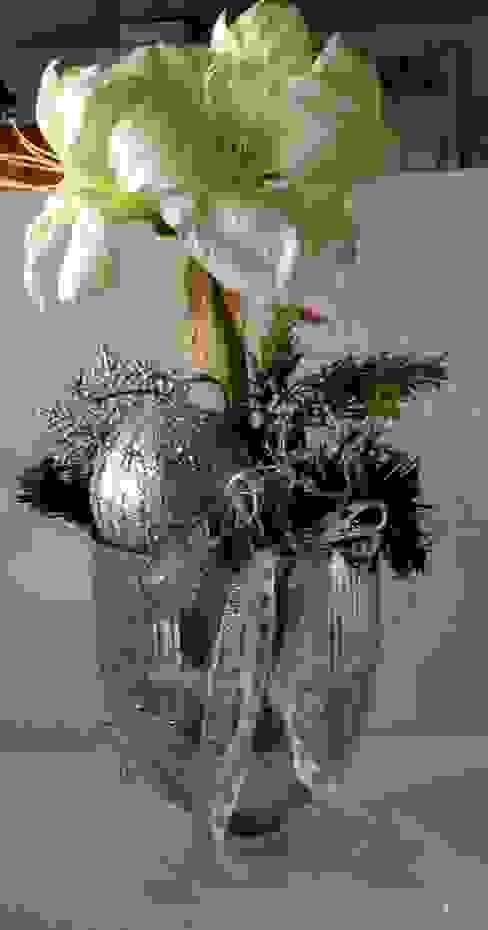 Bauernsilber-Pokal weihnachtlich: modern  von einfachschön!,Modern Glas