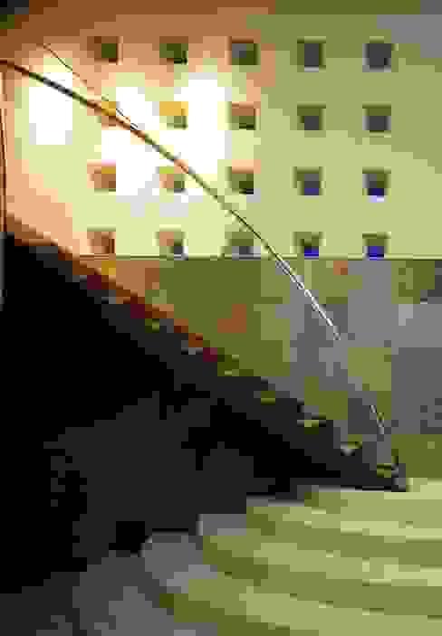Modern Corridor, Hallway and Staircase by Mアーキテクツ|高級邸宅 豪邸 注文住宅 別荘建築 LUXURY HOUSES | M-architects Modern