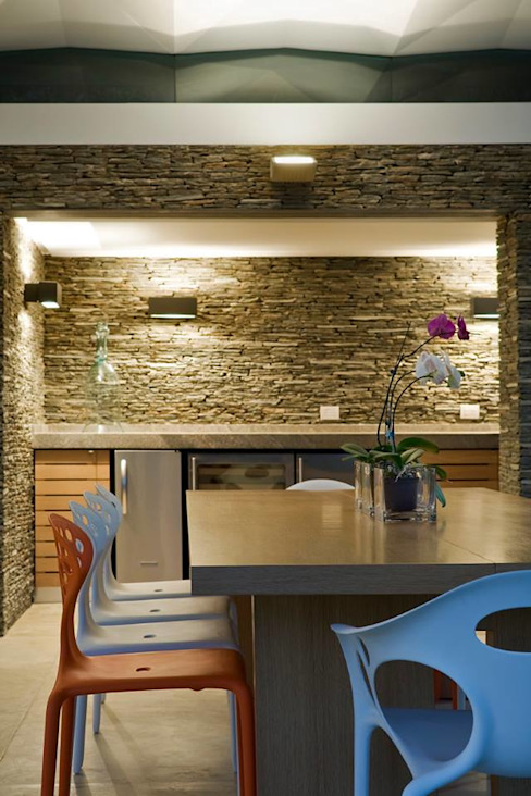 Caney Comedores de estilo moderno de oda - oficina de arquitectura Moderno
