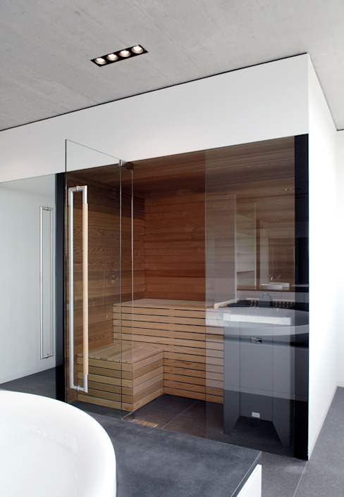 Спа в стиле модерн от Corneille Uedingslohmann Architekten Модерн