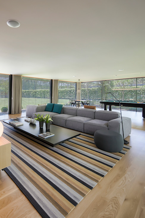 غرفة المعيشة تنفيذ INAIN Interior Design , حداثي