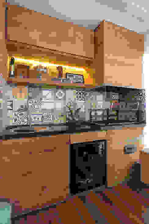 Apartamento Vila Leopoldina 01: Terraços  por Officina44,