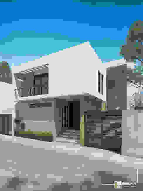 Дома в стиле минимализм от Bau-Art Taller de Arquitectura Минимализм