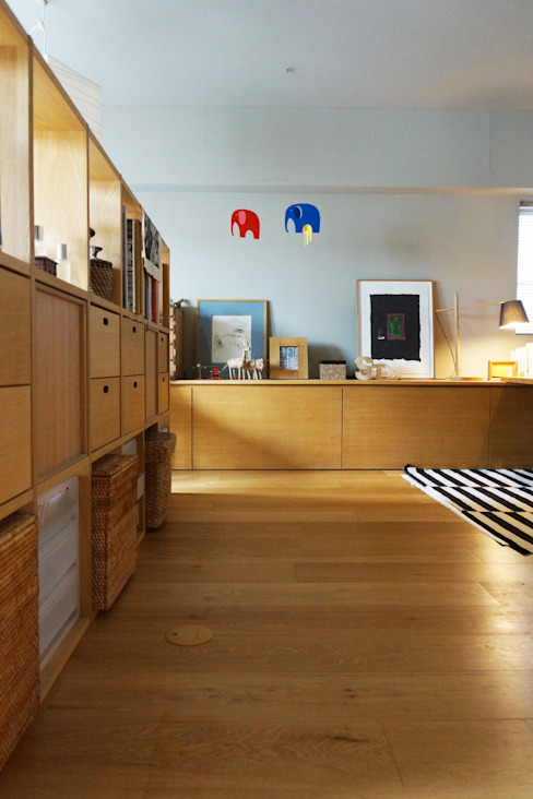 イロリイデザイン Multimedia roomStorage Wood Wood effect