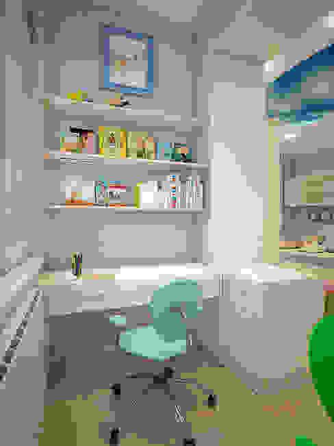 Дизайн квартиры в Новомосковске Детская комнатa в классическом стиле от Алина Насонова Классический