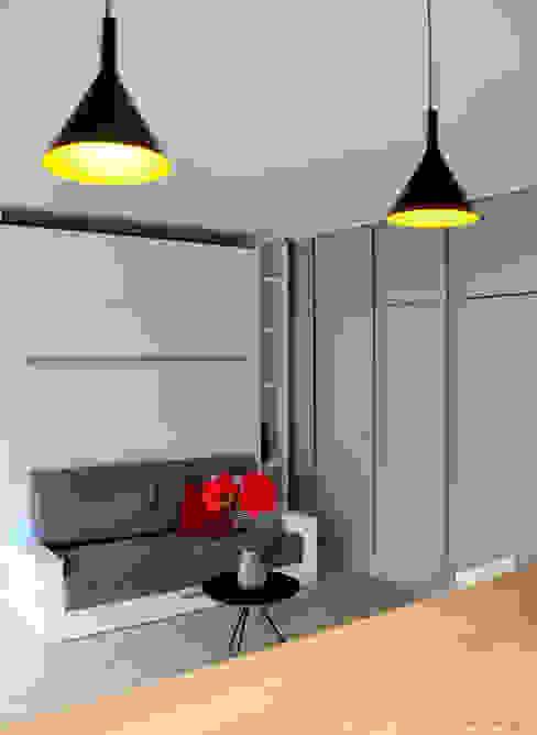 Camera da letto in stile scandinavo di K Design Agency Scandinavo