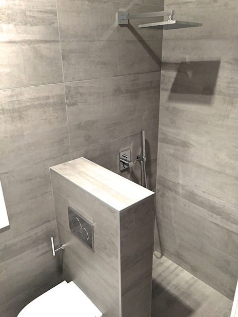Scandinavian style bathroom by EKIDAZU Scandinavian