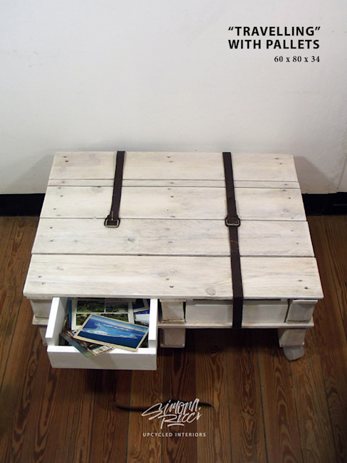 travelling with pallets:  in stile industriale di simona ricci creative interiors, Industrial
