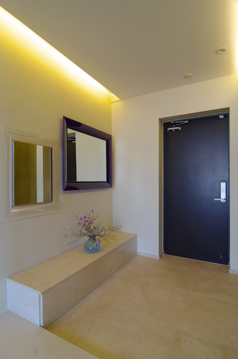 Modern Corridor, Hallway and Staircase by Design A3 Modern