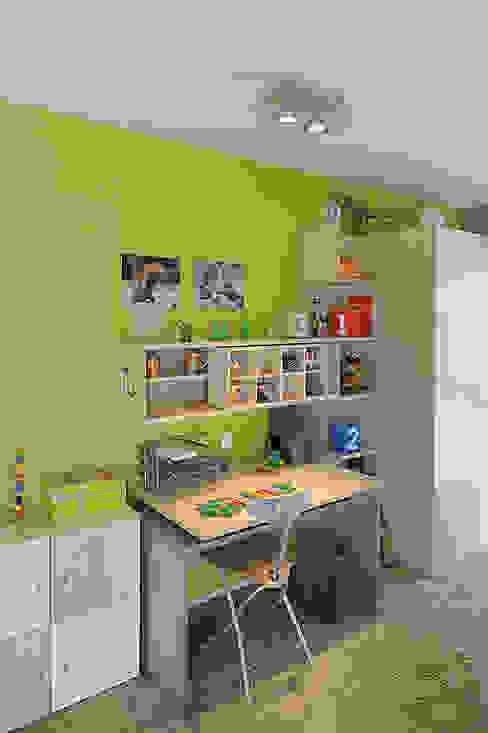 RETROSIX QRB 2 Wand- und Deckenleuchte Moderne Kinderzimmer von homify Modern Glas