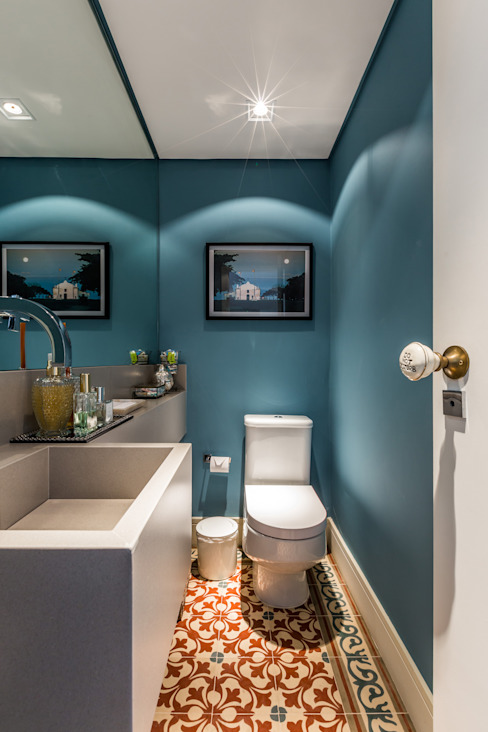 Modern style bathrooms by contato83 Modern
