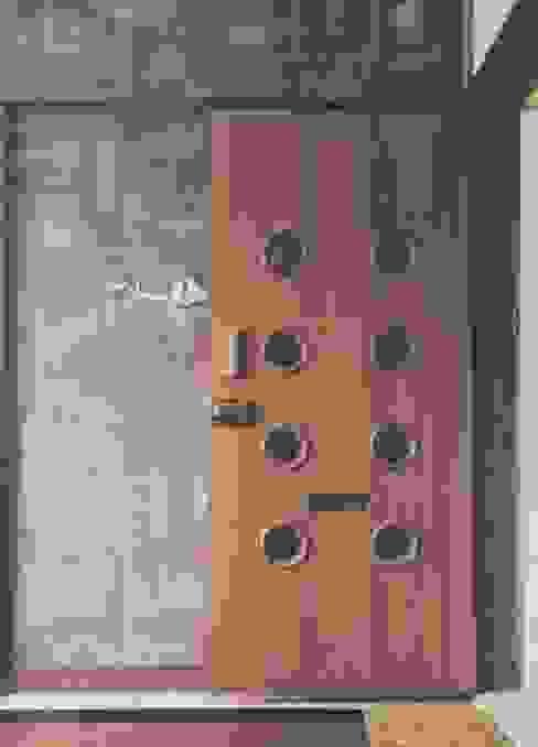 Khar Residence Modern windows & doors by SwitchOver Studio Modern