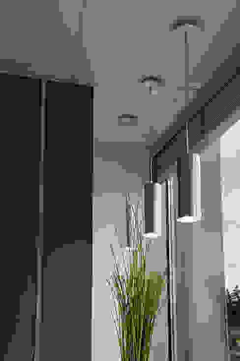 Modern living room by homify Modern Aluminium/Zinc