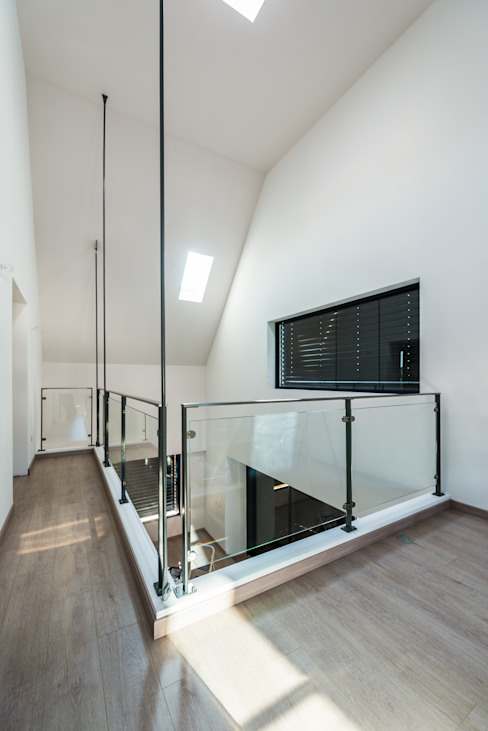 Mezzanine Jardin d'hiver moderne par [ADitude*] Architecture Moderne