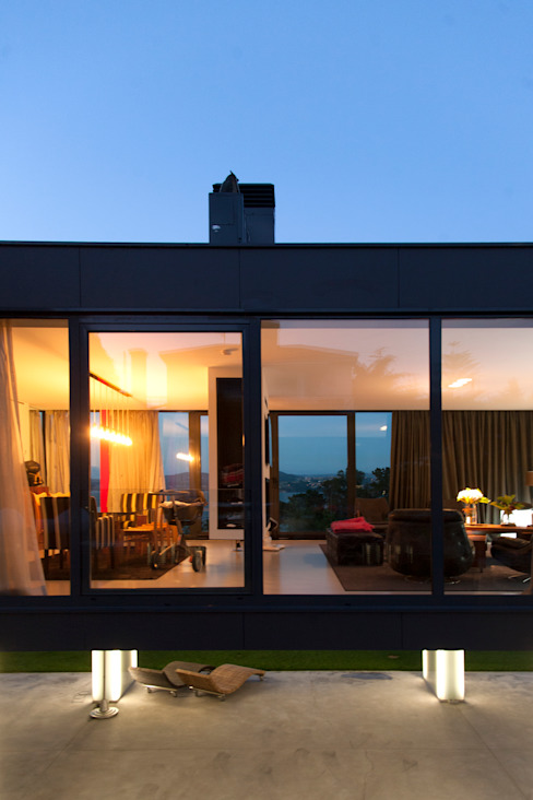 Mansión en el campo con aire urbano Casas de estilo moderno de Belén Sueiro Moderno
