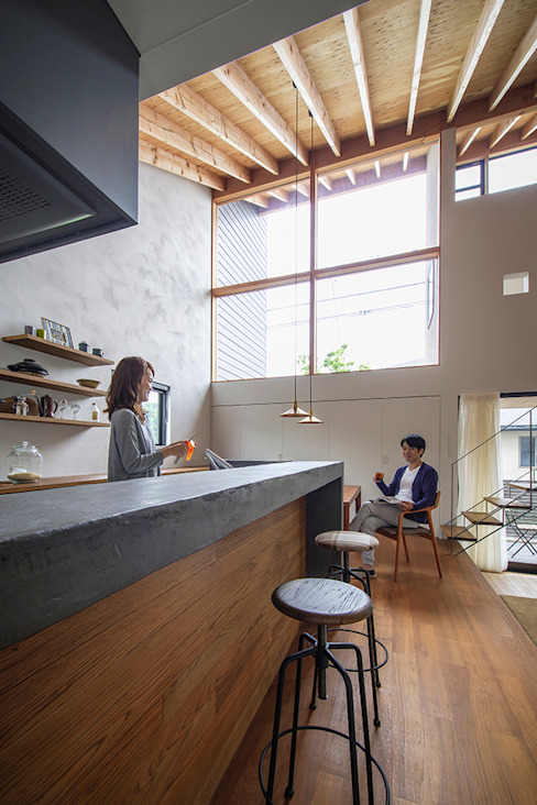 nobuyoshi hayashi Eclectic style kitchen