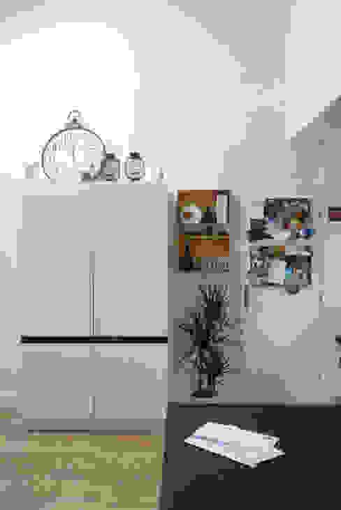 REAMENAGEMENT PIECE DE VIE Amélie Jodeau Architecte Cuisine moderne