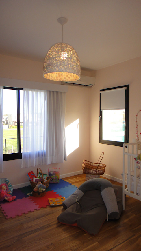 Dormitorio niños Dormitorios infantiles de estilo moderno de 2424 ARQUITECTURA Moderno Madera Acabado en madera