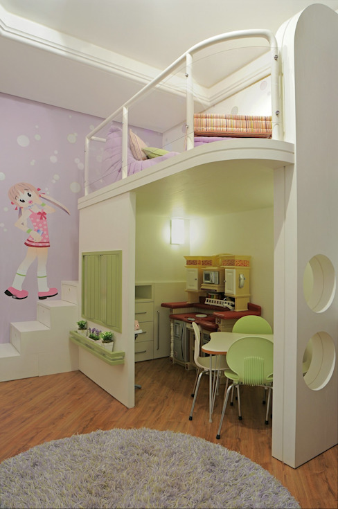 Modern Kid's Room by Heller Arquitetura e Interiores Modern