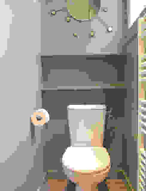 APPARTEMENT RUE DU PLATRE Salle de bain moderne par cristina velani Moderne