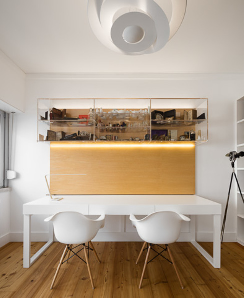 Study/office by OW ARQUITECTOS lda | simplicity works, Modern