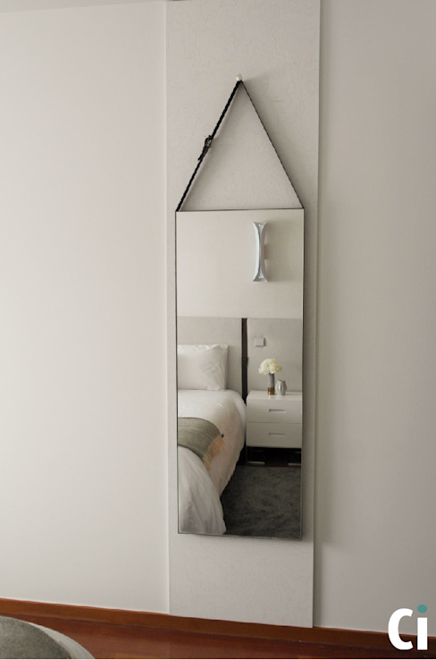 Camera da letto in stile  di Ci interior decor, Moderno