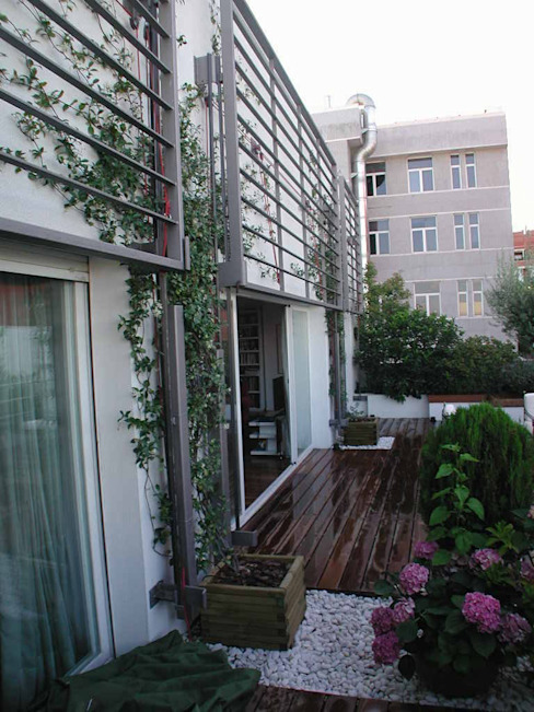 Estudio Marta Byrne Paisajismo Modern terrace