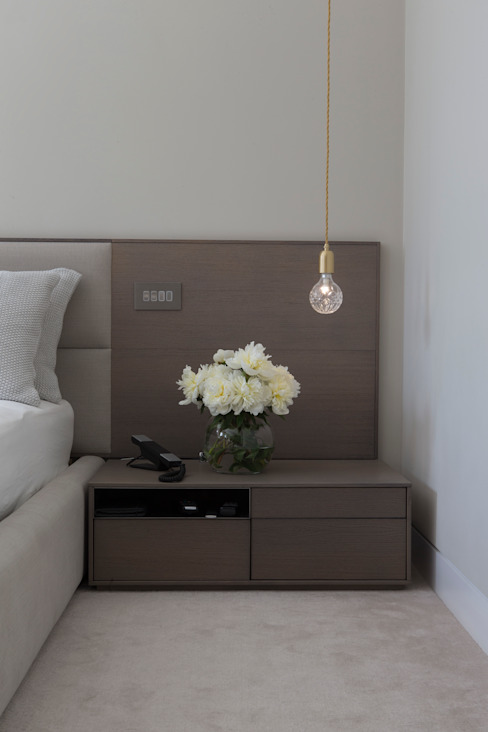 KSR Architects | Hampstead Village Home | Bedside table Modern style bedroom by KSR Architects Modern