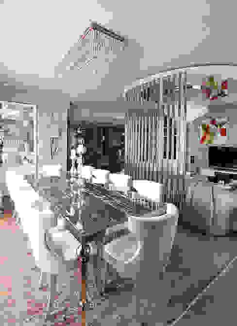 Living Room Renovation Modern living room by Orkun İndere Interiors Modern Copper/Bronze/Brass