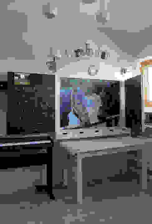 Dormitorios infantiles de estilo ecléctico de dekoratorka.pl Ecléctico