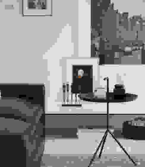 Sala Blanco & Negro BOOX Salones escandinavos Blanco
