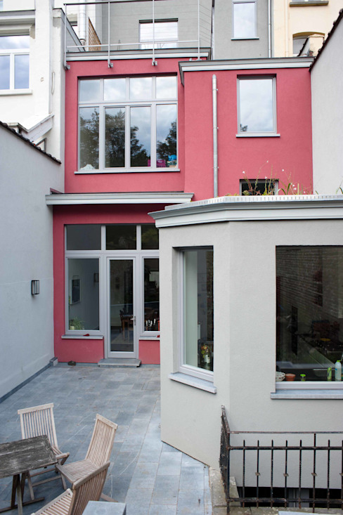 DeRadigues Maisons modernes par Modelmo ScPRL Moderne