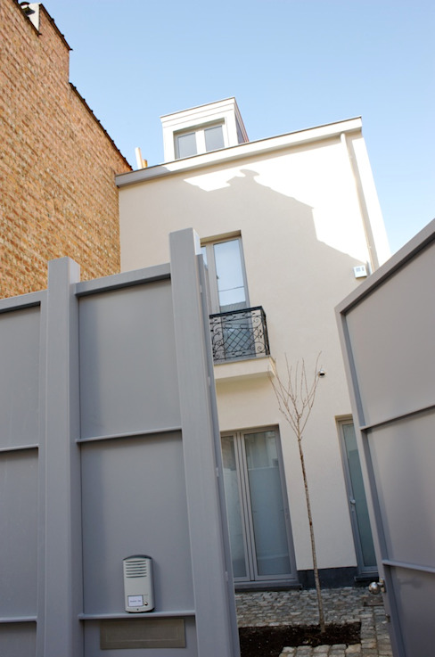 Avramovic Sion Maisons modernes par Modelmo ScPRL Moderne