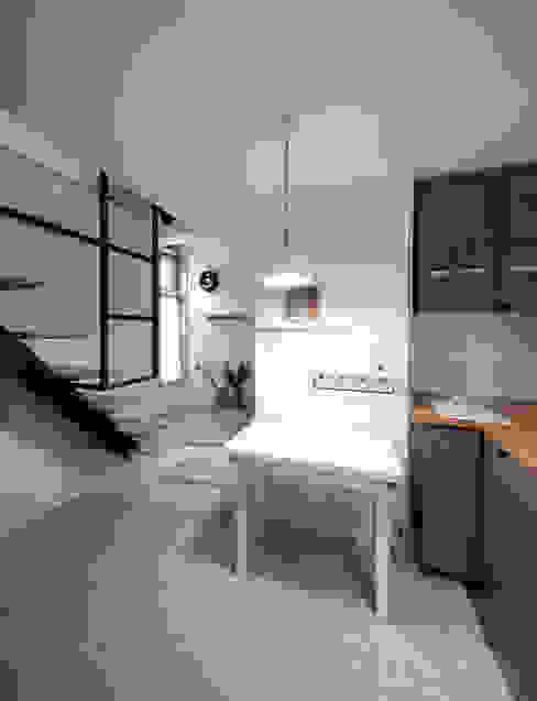 ห้องทานข้าว โดย 토맥건축사사무소, โมเดิร์น