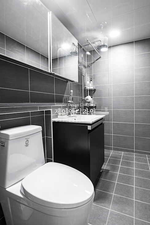 Industrial style bathroom by JMdesign Industrial