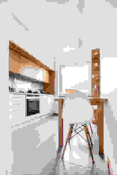 Cocinas de estilo  por Ayuko Studio , Escandinavo